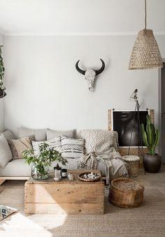 Light bohemian living room