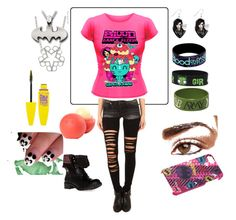 """""""Random band BVB and BOTDF mash"""" by children-surrender-0 ❤ liked on Polyvore featuring R13, dELiA*s and DailyLook"""