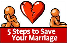 5 Steps to Save Your Marriage A practical plan to forge a new beginning. #RestoreMarriage #5Steps