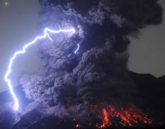 On the edge of Volcanoes...These are the explosive images of some of the worlds most astonishing volcanic eruptions.