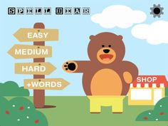Love learning language with Spell Bear! Check out the full review here! #kidsapp #learning #earlylearners
