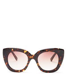5e5332379e4 kate spade new york Women s Narelle Oversize Thick Rim Cat Eye Sunglasses