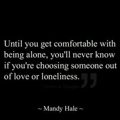 Love or lonliness