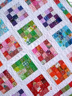"""girls crayon quilt""..."