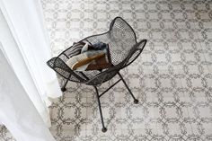 cement tile mixed floor - Google Search