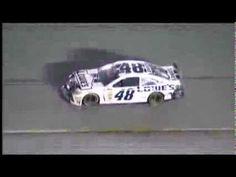 NASCAR Jimmie Johnson Collides with Jeff Burton | Atlanta (2013)