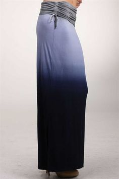 Ombre  Watercolor Maxi