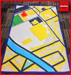 Un tapis pour jouer sur mon quartier ...