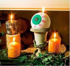 Spooky #Halloween party #candles: http://www.1-2-do.com/de/projekt/Halloween-Kerzen/bastelanleitung-zum-selber-basteln/4448/