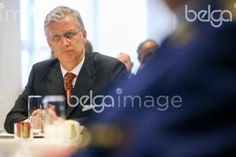 20151110 - BRUSSELS, BELGIUM: King Philippe - Filip of Belgium pictured during a visit to the DSU, Direction Specials Units, of the federal police, in Brussels, Tuesday 10 November 2015. BELGA PHOTO VIRGINIE LEFOUR