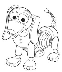 Toy Story Coloring Pages toy story slinky dog coloring pages – Kids ...