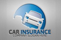 Car insurance logo by josuf on Creative Market