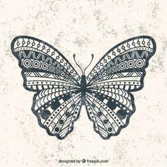 Geometric borboleta