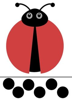FREE Printable decorate the ladybug Activity from jenny at dappehouse … Free Preschool, Preschool Worksheets, Preschool Crafts, Ladybug Art, Ladybug Crafts, Bug Activities, Preschool Activities, Toddler Crafts, Crafts For Kids