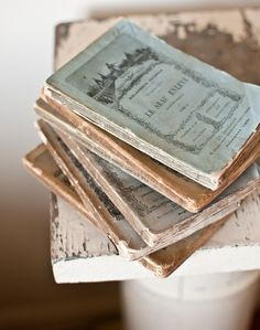 old French books