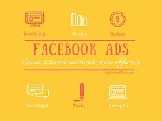 Facebook ADS: come scrivere una campagna efficace? Cosa devi sapere? E cosa puoi fare per ottimizzare gli sforzi? Nel post trovi i miei suggerimenti!