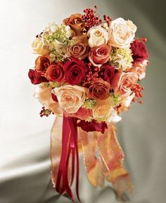 burgundy and peach wedding theme - Google Search