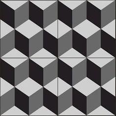 """Geometric Geo 02A Encaustic Cement Tile 8""""x8"""""""