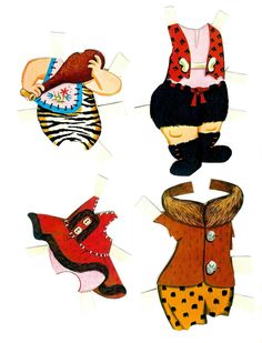 3 Pebbles and Bamm Bamm paper Dolls page 12