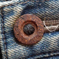 Denim Men, Raw Denim, Vintage Jeans, Vintage Buttons, Denim Branding, Blue Bloods, Ageing, Pocket Detail, Denim Fashion