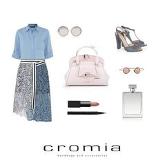 Friday outfit with #Cromia Alice #handbag: pastel tones and original lines for an extra sophisticated look! #cromiabag #fashion #style #baglover #spring #summer #ss15 #pe15 #charme #trend #outfit #look #cool #bag #elegance #instastyle #instafashion #instacool #bagoftheday #fashionblogger #iconic #citystyle #glamour