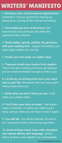 Writers' Manifesto