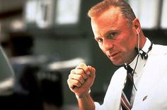 """Apollo 13 - the oh so handsome Ed Harris as Gene Kranz - """"Failure is NOT an option! Apollo 13 1995, 1990s Films, Option Quotes, Survival Blog, Favorite Movie Quotes, Double Life, Movies Worth Watching, Lost, The Secret Book"""