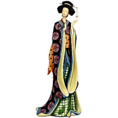 geisha figurine 20 inches - Google Search