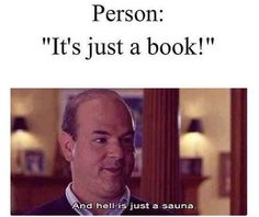 it's just a book