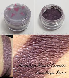 Swatch Post! Brilliant Deductions by Aromaleigh Mineral Cosmetics! Part 3 of 3. - Indie Know