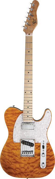 MICHAEL KELLY 1950s Series Quilt Maple Top.   lessonator.com