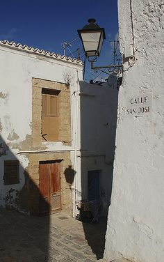 Calle San José -Ibiza, Spain