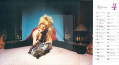 HANOI ROCKS MICHAEL MONROE - POSTER FROM JAPANESE MAGAZINE BURRN! APRIL 2004   eBay
