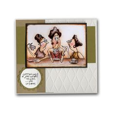 Girlfriends Getting Old Coffee Card