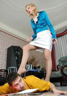 Female Domination at Home