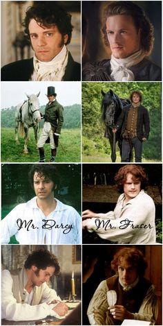 Jamie Fraser - Mr. Darcy