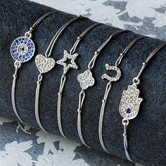 Silver Symbolic Friendship Bracelet