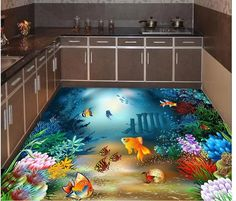 We discuss the flooring prices and how much does epoxy floors cost per 1 sq. In addition to the best floor art and epoxy flooring designs, images, murals and patterns for inspiration Floor Wallpaper, Painting Wallpaper, Floor Painting, Epoxy Floor Designs, Sol 3d, 3d Floor Art, Epoxy Floor Paint, 3d Flooring, Painted Floors