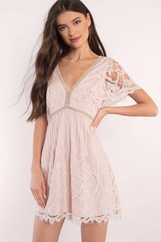 Shop Fit and Flare Skater Dresses at Tobi. Whether it's a white lace skater dress, black long sleeve or red skater dress - find it here. Off First Order! Cute Dresses, Short Dresses, Formal Dresses, Skater Dresses, Trendy Dresses, Women's Fashion Dresses, Party Dresses, Casual Dresses, White Lace