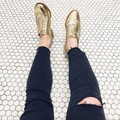 @emilycole247 mixes destructed with metallic. #InMyJBRAND