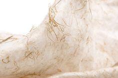 Pine needle textile by Katharina Jebsen
