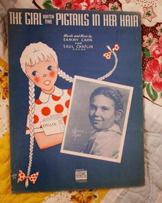 The Literate Quilter: Baby Face: Sheet Music Cuties