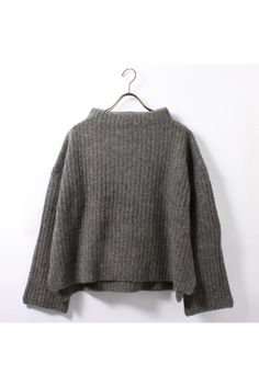 L'Appartement DEUXIEME CLASSE | アパルトモン ドゥーズィエム クラス 【TRADITIONAL BOTTLE NECK KNIT TOP 】