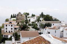 Málaga (ES)  Comares | Vista del casco antiguo.