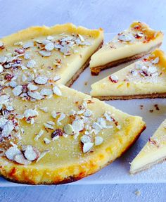 Lemon & Almond tart