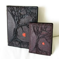 Tree of Life Vintage Natural Handmade Leather / Journal / Diary / Notebook / Daily Planner / Book Cover / Refillable Large Size. $89.00, via Etsy.