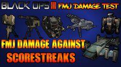 Black Ops 3 FMJ| FMJ Damage Against Scorestreaks| FMJ Damage Test