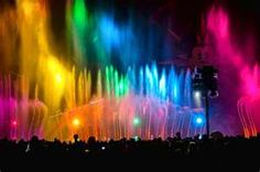 World of color Disney land <3 was an amazing show.