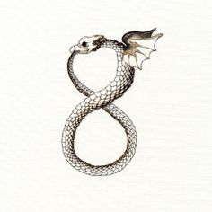 infinity ouroboros  w/o wings and eagles head plz