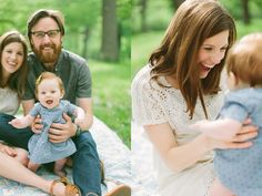neutral outfits and casual feel   family photo session